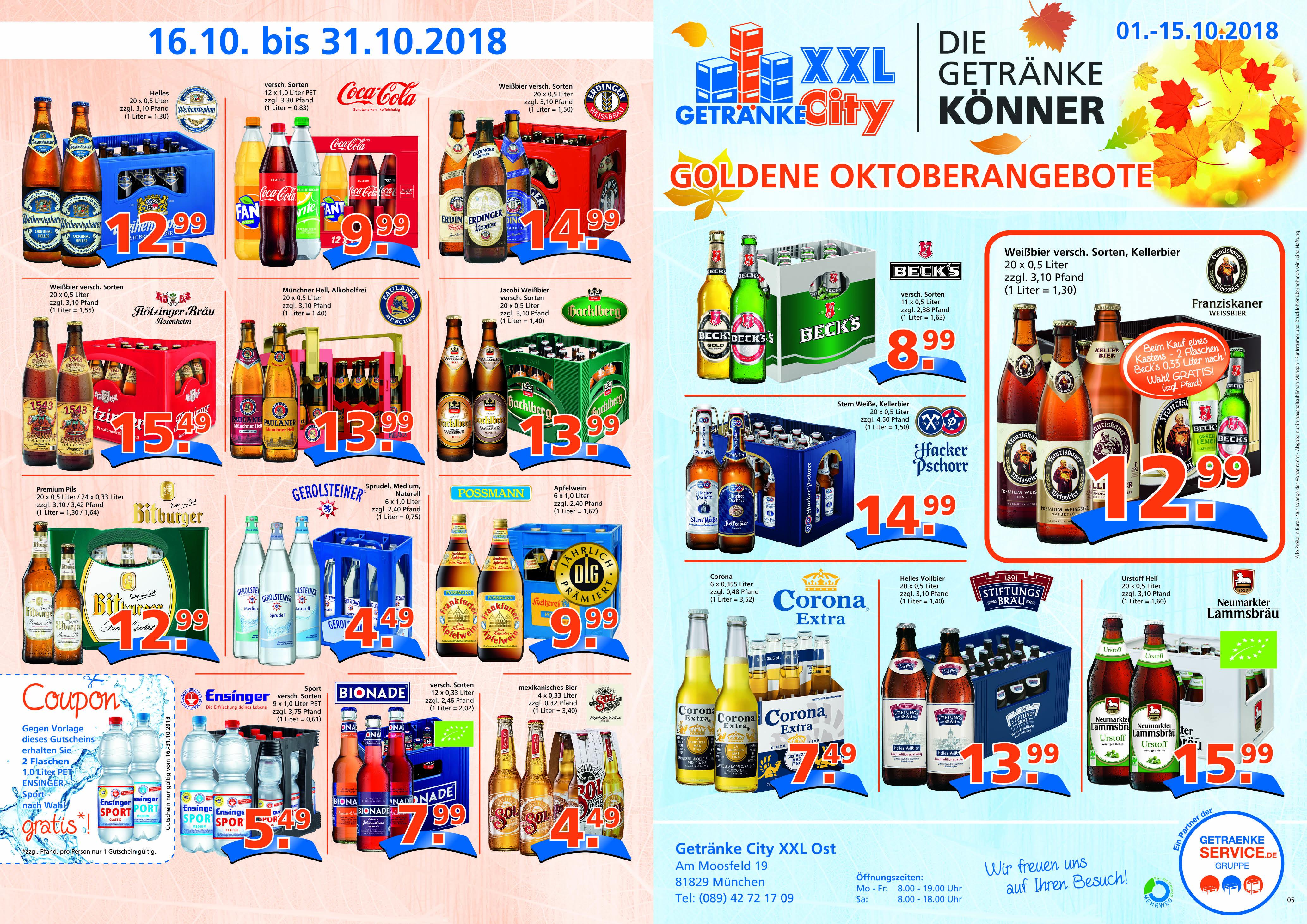 getraenkecity.de · Getränkemärkte in München und Oberbayern ...